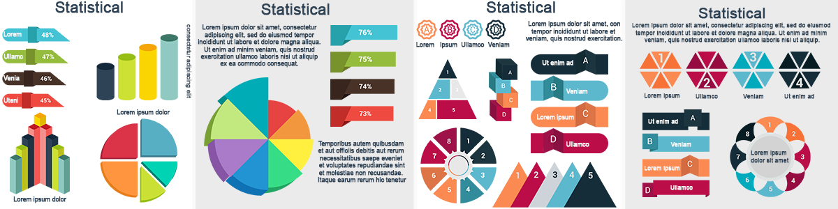 statistical infographic design