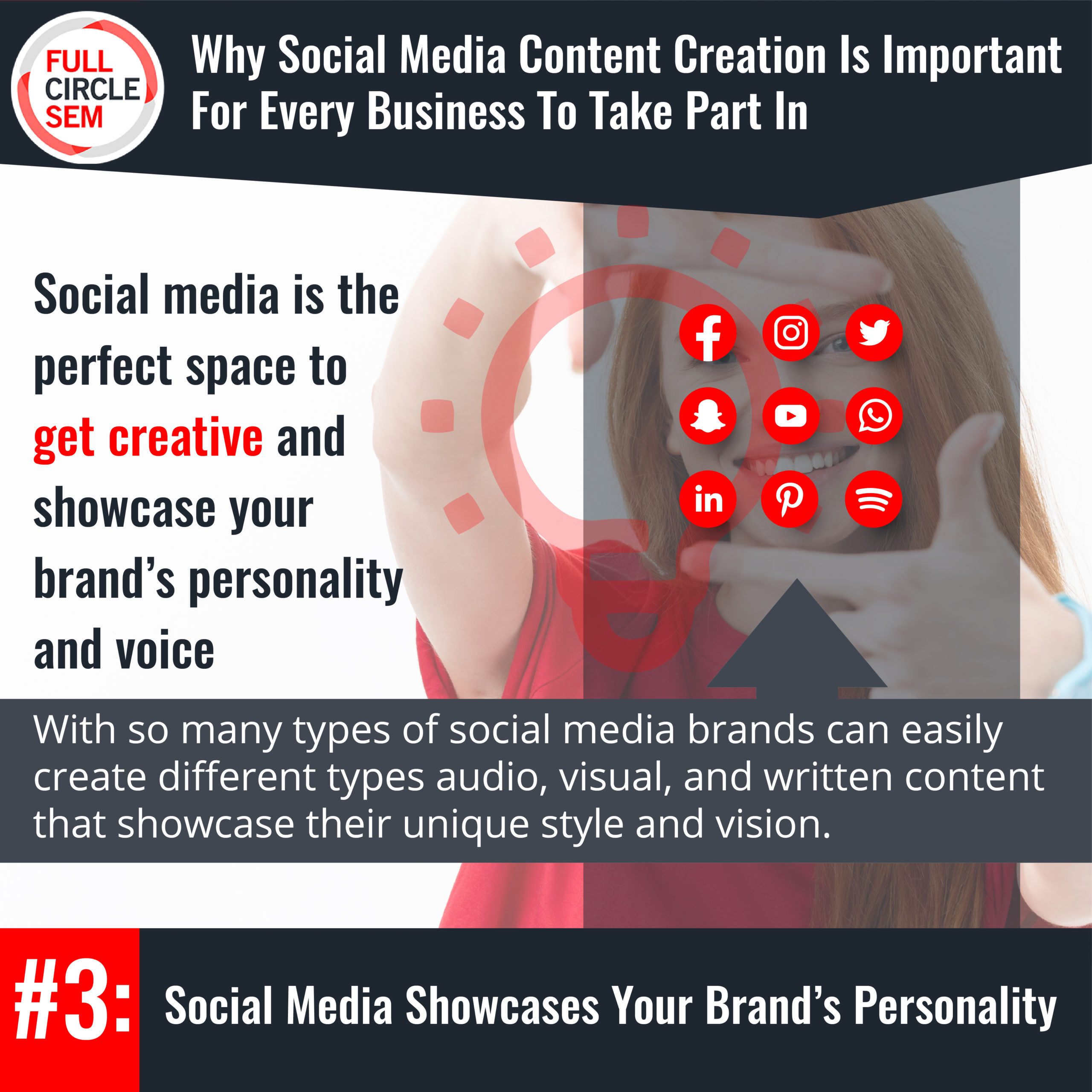 showcare your brand's personality